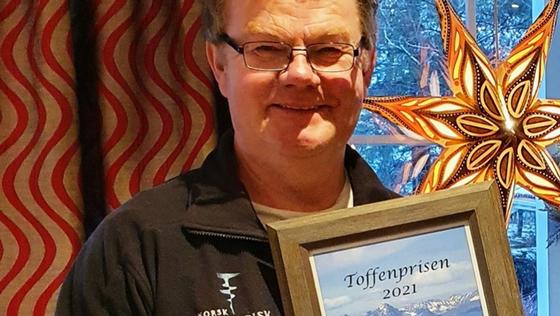 Hans Arne Nakrem med Toffenprisen